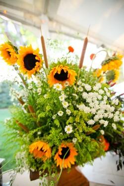 Sunflower-Centerpiece