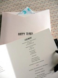 Tissue-Pouch-Wedding-Program