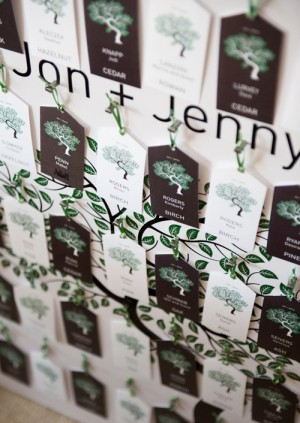 Tree-Themed-Escort-Cards