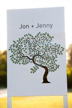 Tree-Themed-Wedding