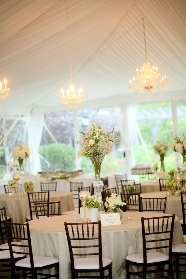White Tent Wedding Reception Elizabeth Anne Designs The Wedding Blog