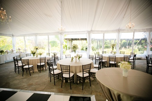 White-and-Brown-Tent-Reception