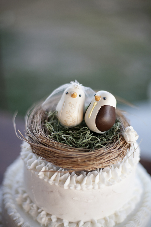 Birds-Nest-Cake-Topper - Elizabeth Anne Designs: The Wedding Blog
