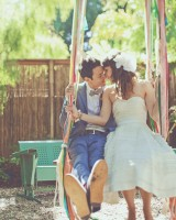 Bride-and-Groom-on-Swing