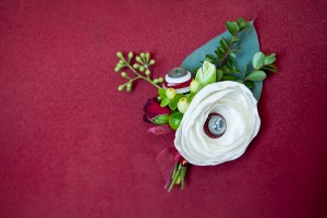 Fabric-and-Button-Flower-Boutonniere