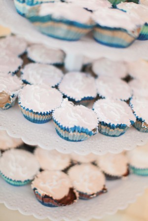 Ice Cream Wedding Cupcakes