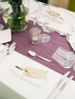 Lavender-Escort-Card