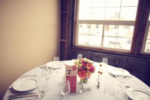 Modern-Pink-Wedding-Reception