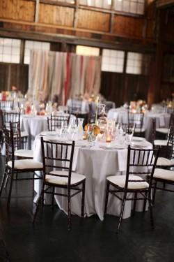 Modern-Pink-and-Orange-Wedding-Reception
