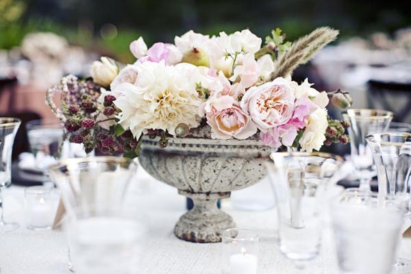Pink Garden Centerpiece