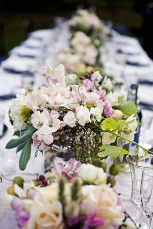Pink Garden Wedding Decor