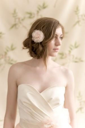 Pink Tulle Hair Flower