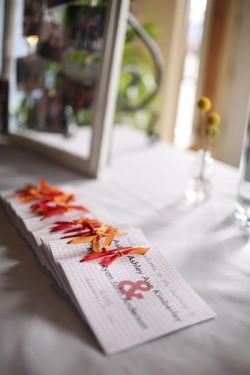Pink-and-Orange-Wedding-Program