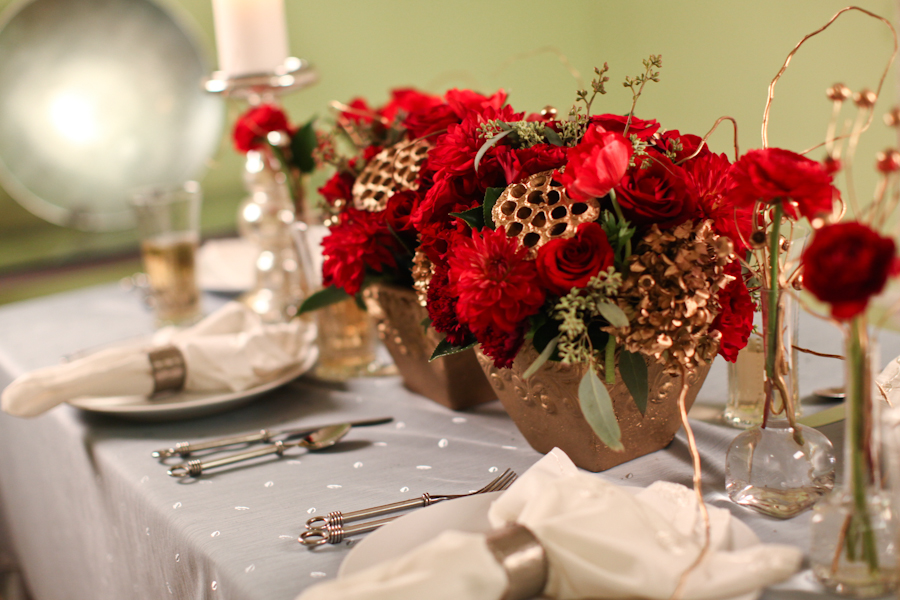 Red and gold wedding centerpieces imgkid the