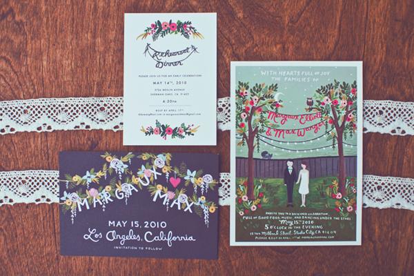 Backyard Wedding Invitation: Elizabeth Anne Designs: The