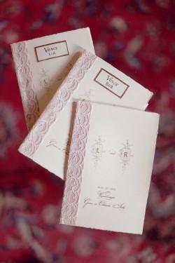 Rose-Paper-and-Vintage-Lace-Wedding-Program