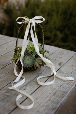 Succulent-Flower-Basket
