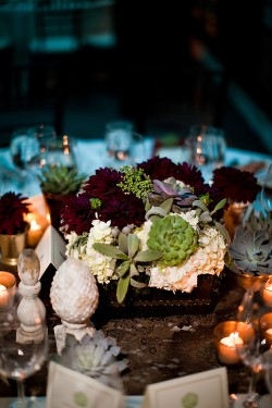 Succulent-and-Dahlia-Centerpiece