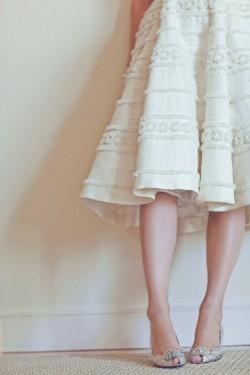 Tea-Length-Bridal-Gown