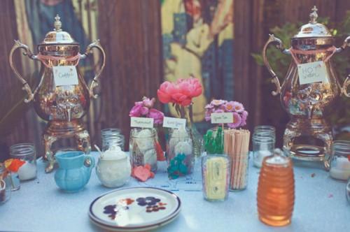 Wedding-Tea-Station