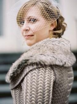 Bride-in-Sweater