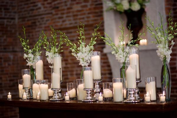 Candle mantel elizabeth anne designs the wedding