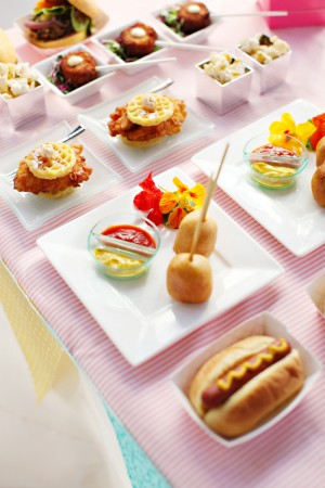 Comfort-Food-Wedding-Display