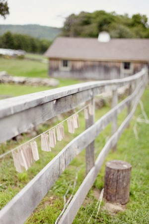 Escort-Cards-hanging-on-fence