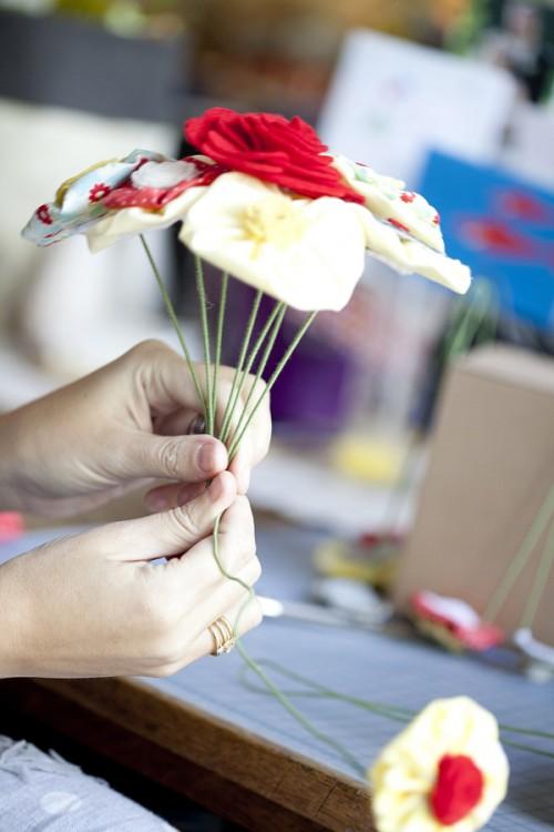 Fabric-Flower-Bouquet-Tutorial-14 - Elizabeth Anne Designs: The ...