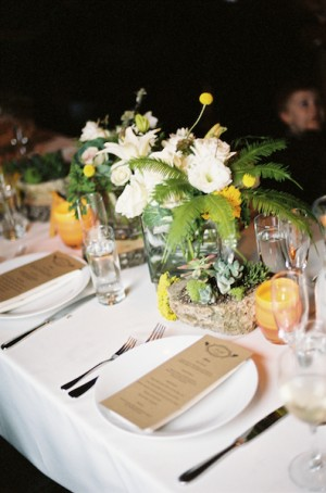 Green-Yellow-Rustic-Centerpiece