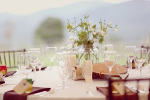Green-and-Brown-Rustic-Centerpiece