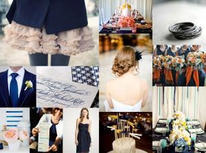 Navy-Gray-Wedding-Inspiration-Board