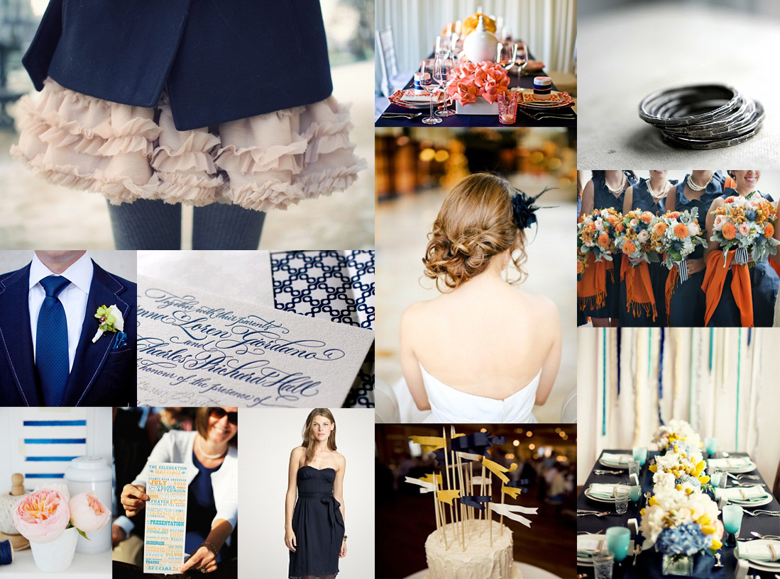 Modern Navy and Gray - Elizabeth Anne Designs: The Wedding Blog