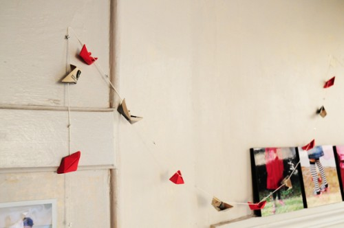 Origami-Garland