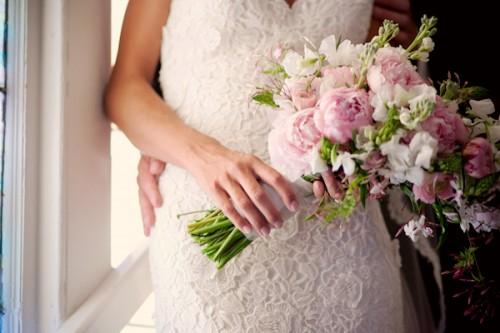Peony-Delphinium-Bouquet