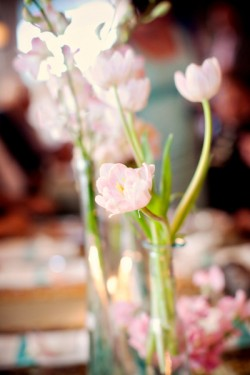 Pink-Tulip-Centerpiece