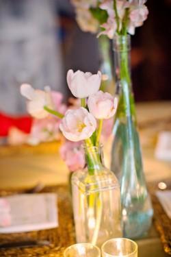 Pink-Tulip-Centerpieces