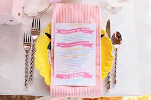 Pink-and-Yellow-Place-Setting