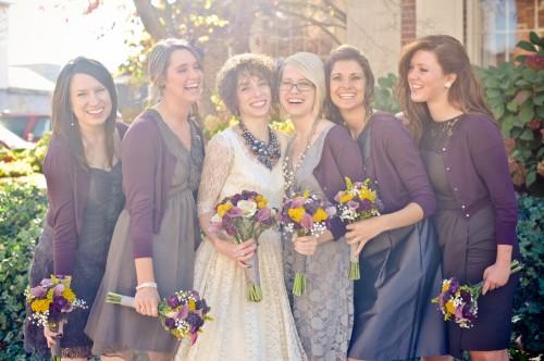 Purple-and-Gray-Bridesmaids