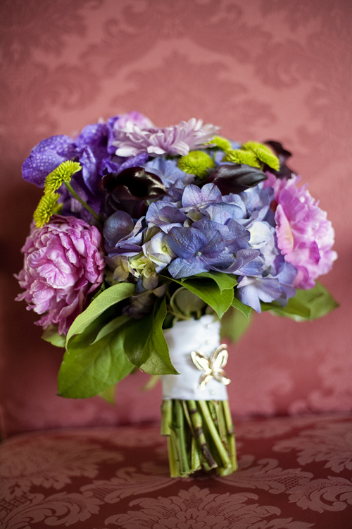 Purple-and-Pink-Hydrangea-Bouquet