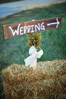 Rustic-Brown-Wedding-Sign