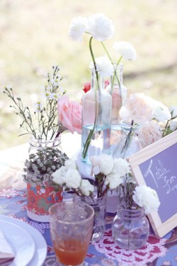 Vases-and-Bottles-Centerpiece