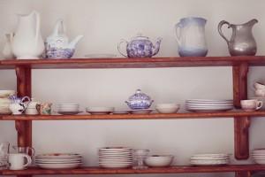 Vintage-China-on-Shelf