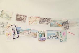 Vintage-Postcard-Garland