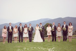 Vintage-Wedding-Party