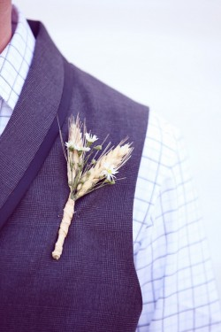 Wheat-Boutonniere