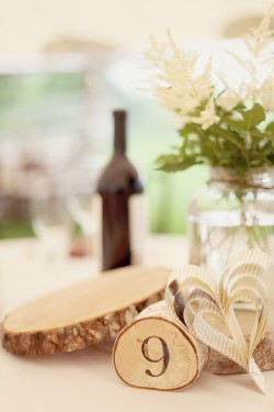 Wood-Table-Number