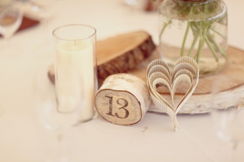 Wood-and-Book-Page-Centerpiece