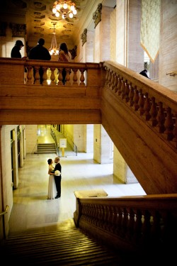 bride-and-groom-alone-in-union-station