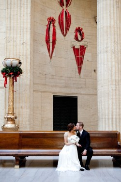bride-and-groom-in-union-station